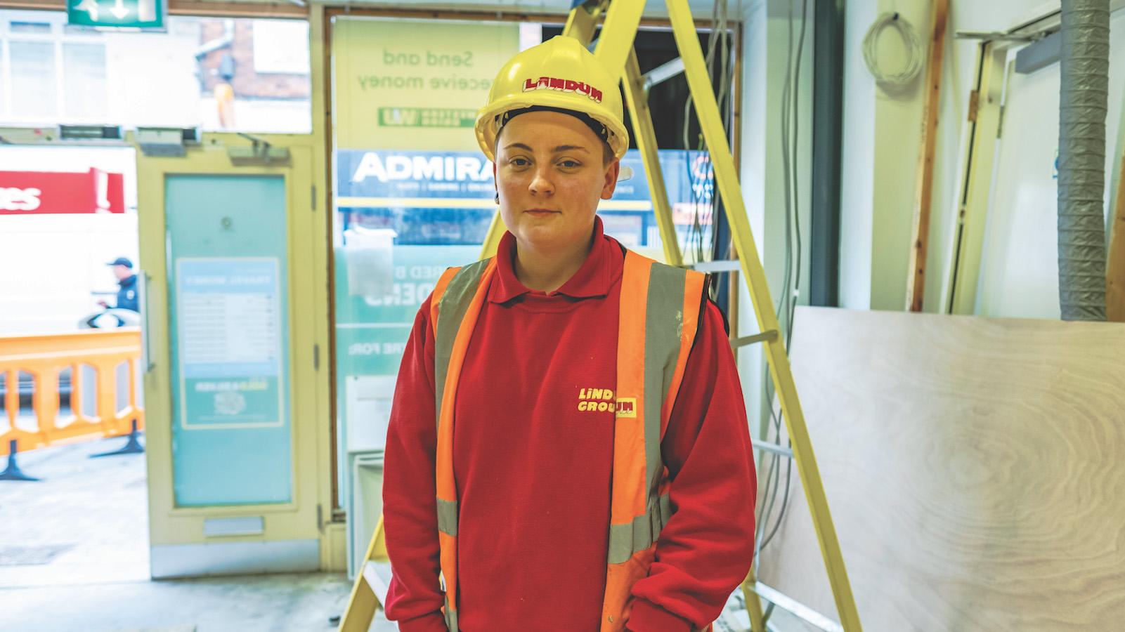 Lindum Group apprentice Katie Hughes