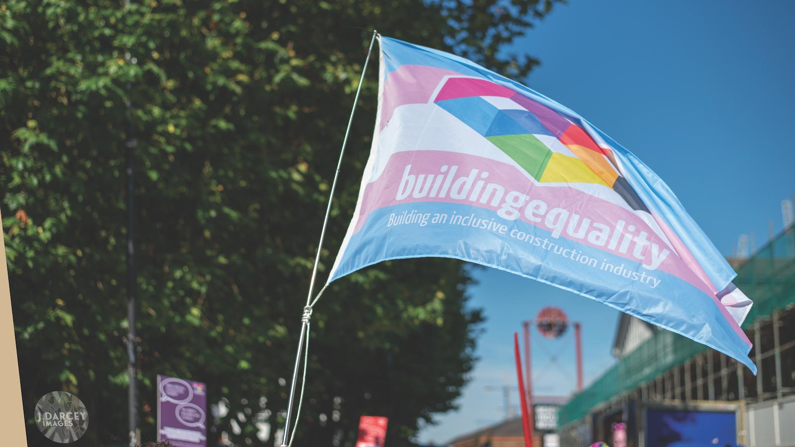 Building Equality flag. Image: JLD