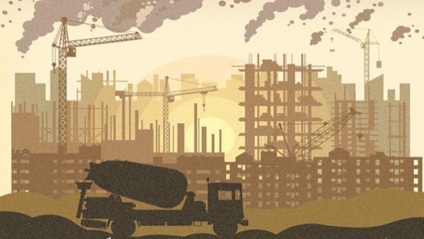 Environment construction pollution