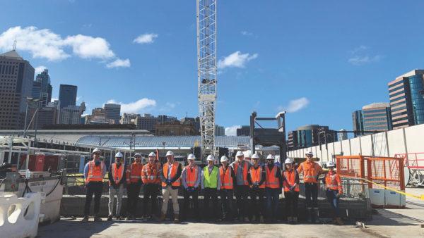 CIOB members visit Laing O'Rourke's work in progress