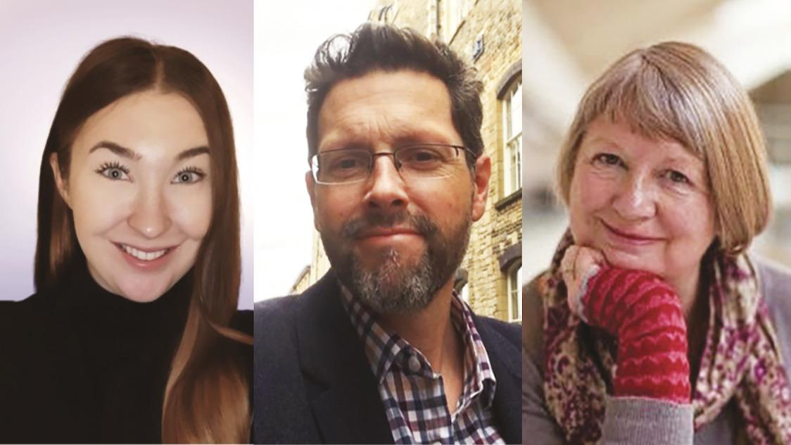 Charlotte Morley, Rob Woodside and Sarah Staniforth
