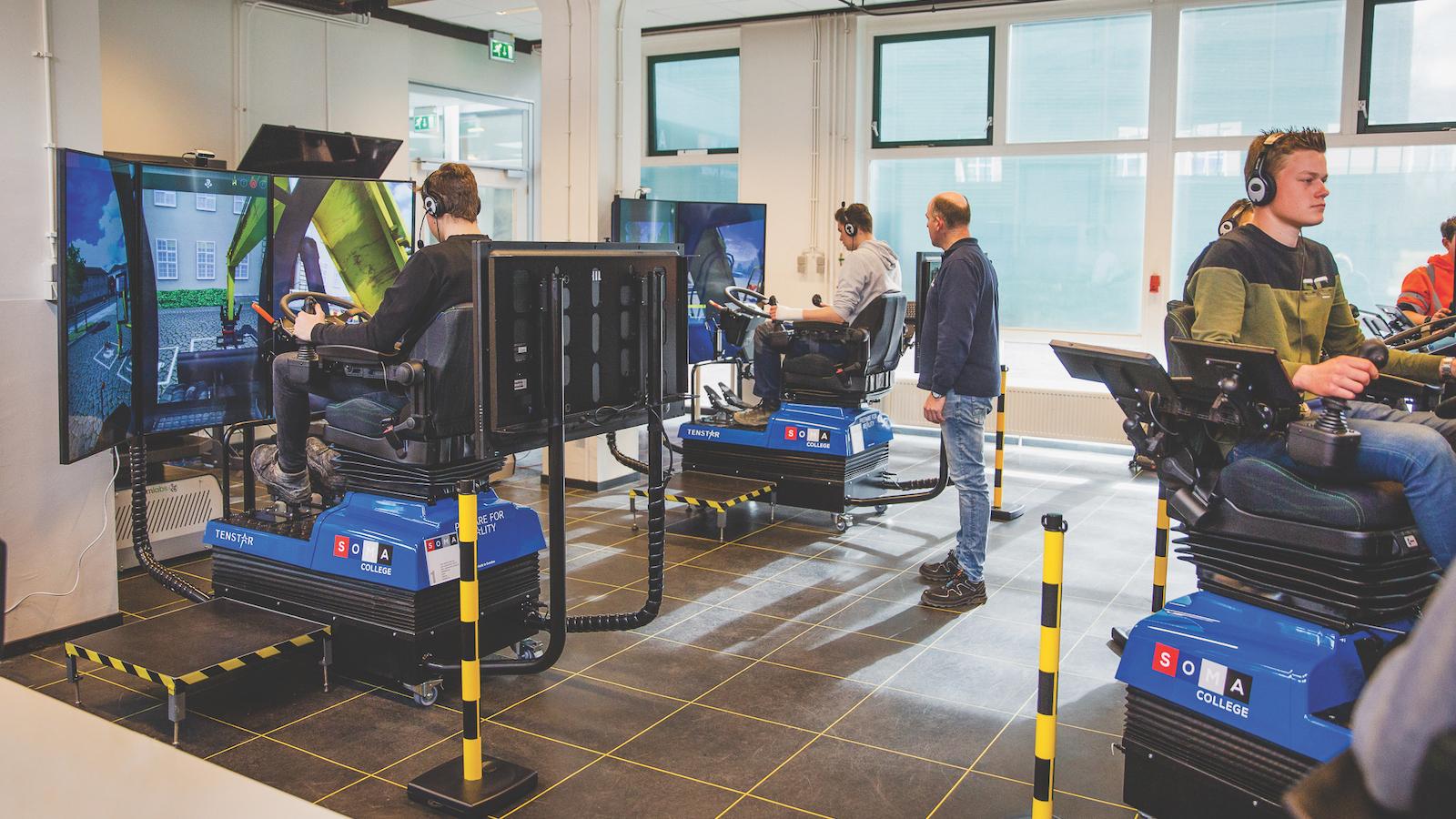 Tenstar training simulators at the Operator Skills Hub